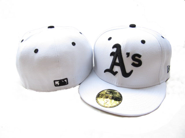 Okaland Athletics MLB Fitted Hat LX09